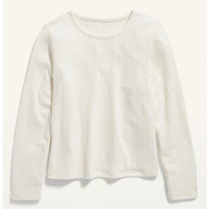 Old Navy Girls Cozy Rib-Knit Cropped Top for Girls